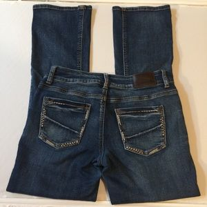Maurices jeans 3/4 short with cute back pockets